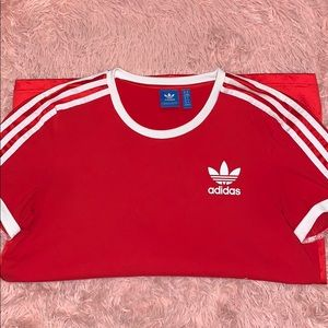 Womens Adidas 3 Stripes T-Shirt